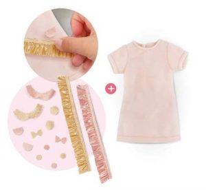 1 robe pour poupée 33 cm + 1 jeu