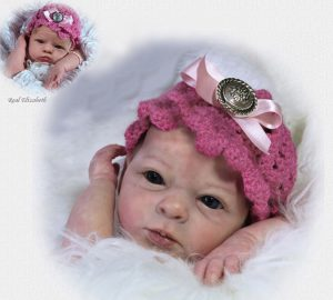 Kit bébé Realborn Elizabeth Awake 49cm sans corps