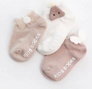 Chaussette coton pour pour poupon bébé Reborn 50/60