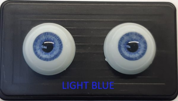 Glastic realistic Eyes Light Blue