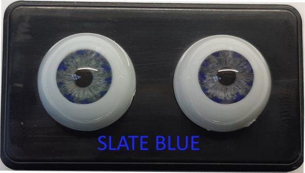 Glastic realistic Eyes Slate Blue